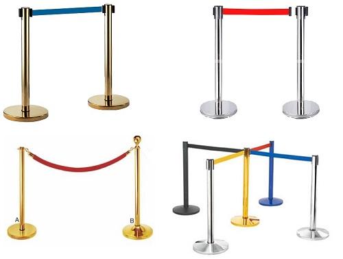 Cột barie inox dây kéo G28-LB – Sự lựa chọn hoàn hảo và tiết kiệm