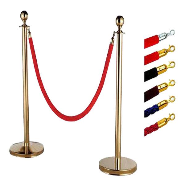Cột chắn Inox dây nhung đỏ – Sự lựa chọn của các trung tâm, sự kiện